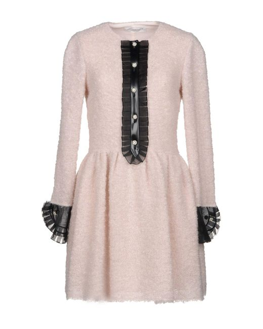 Philosophy Di Lorenzo Serafini - Pink Short Dress - Lyst