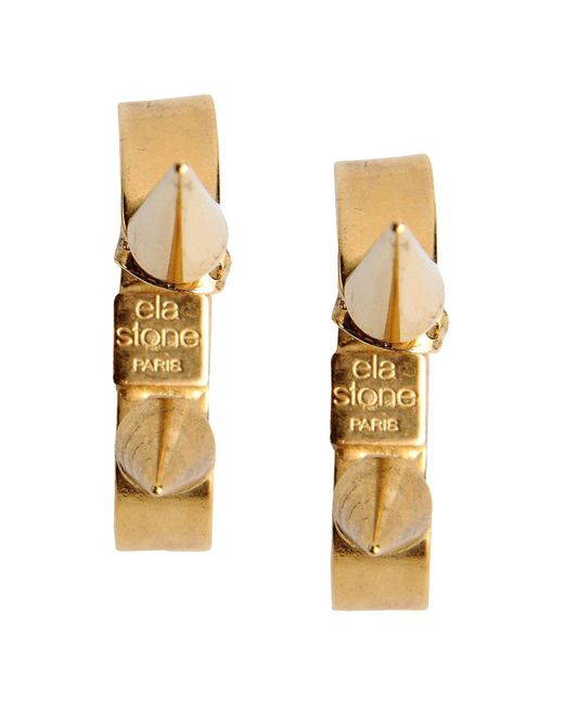 Ela Stone | Metallic Earrings | Lyst