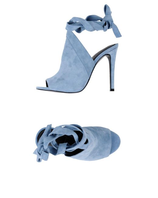 Kendall + Kylie - Blue Sandals - Lyst