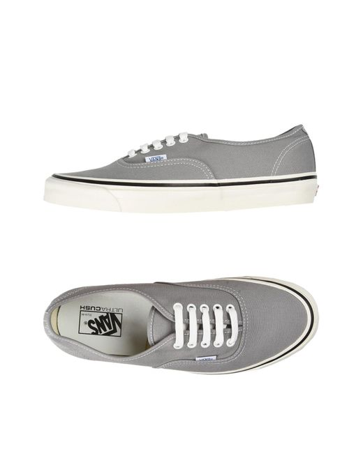 Vans - Gray Low-tops & Sneakers for Men - Lyst