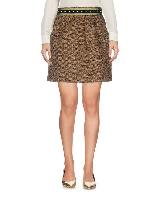 RED Valentino - Multicolor Mini Skirts - Lyst
