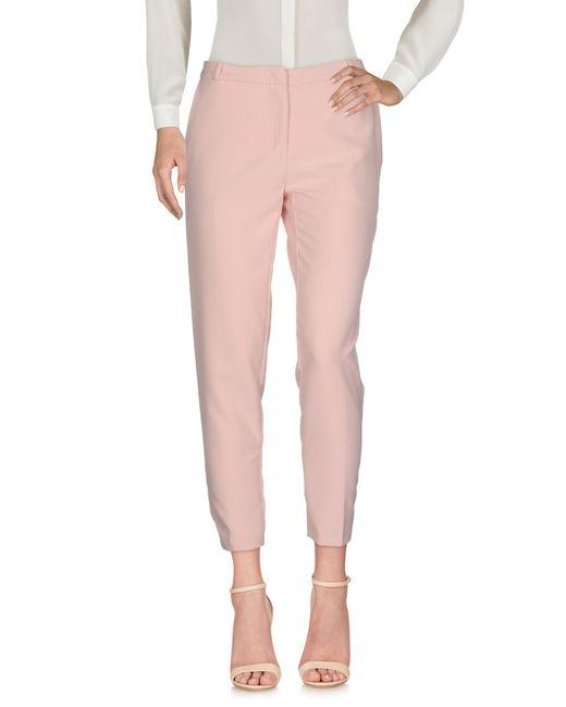Annarita N. - Pink Casual Trouser - Lyst