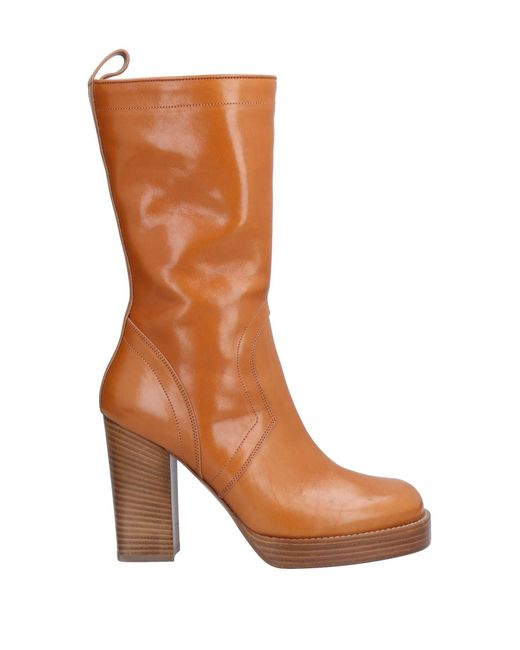 090152e21198 Rick Owens - Brown Ankle Boots - Lyst ...