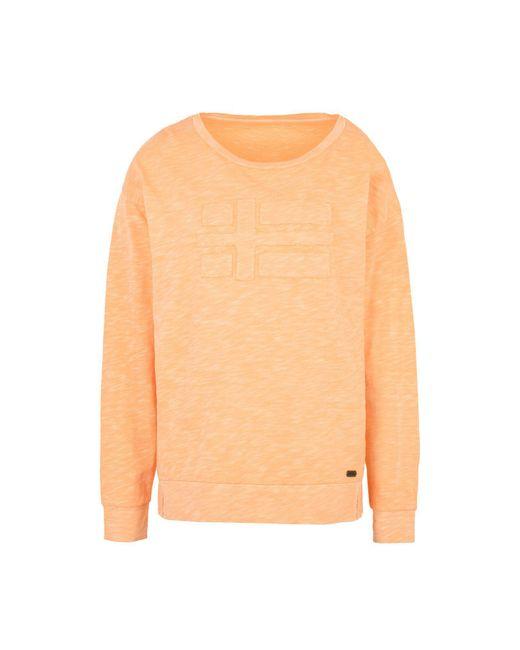 Napapijri - Orange T-shirts - Lyst