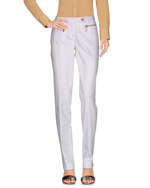 MICHAEL Michael Kors | White Casual Trouser | Lyst