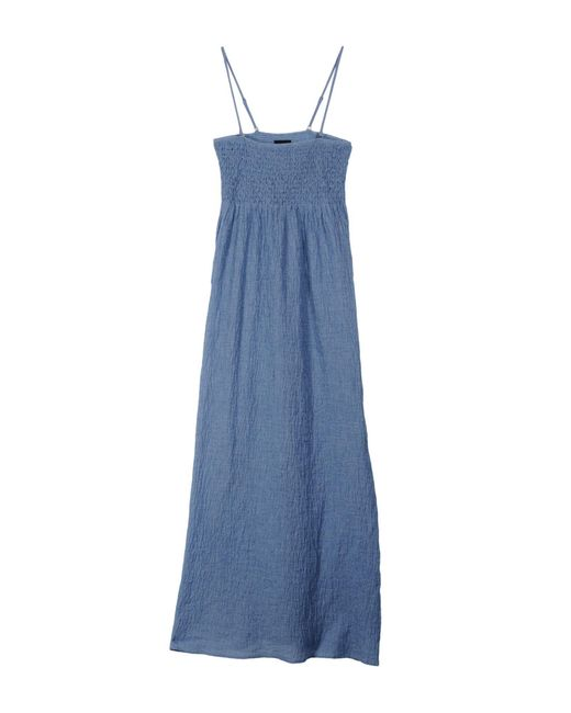 Twin Set - Blue Long Dress - Lyst