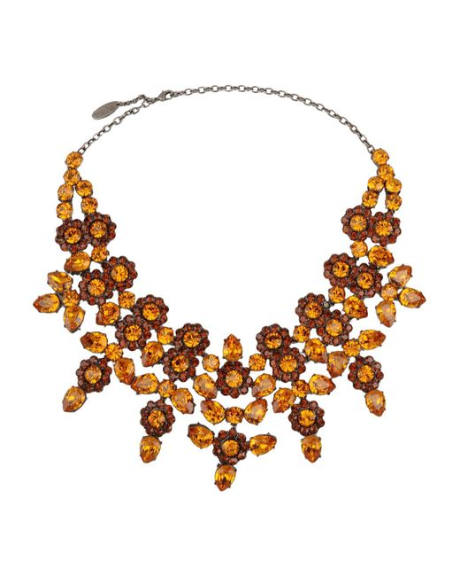 Roberto Cavalli | Orange Necklace | Lyst