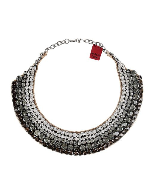 Valentino - Green Necklace - Lyst