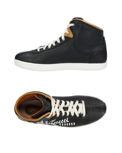 Alexander McQueen X Puma - Black High-tops & Sneakers for Men - Lyst
