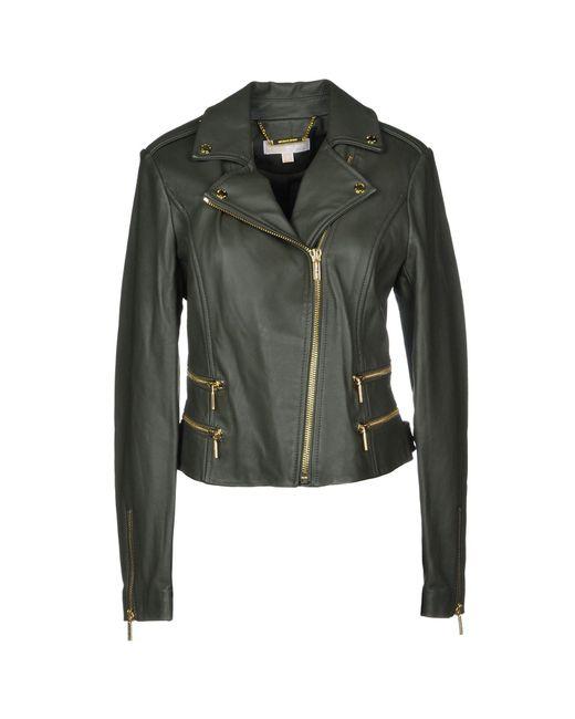 MICHAEL Michael Kors - Green Jacket - Lyst
