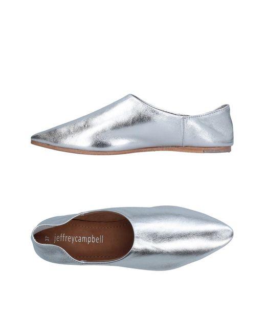 Jeffrey Campbell | Metallic Loafer | Lyst