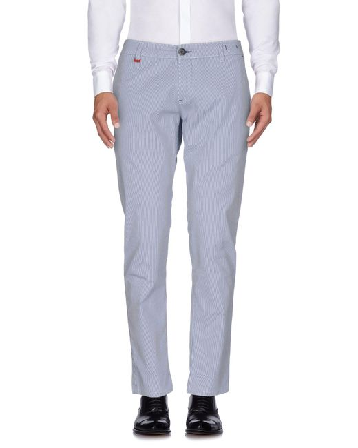 Liu Jo - Blue Casual Pants for Men - Lyst
