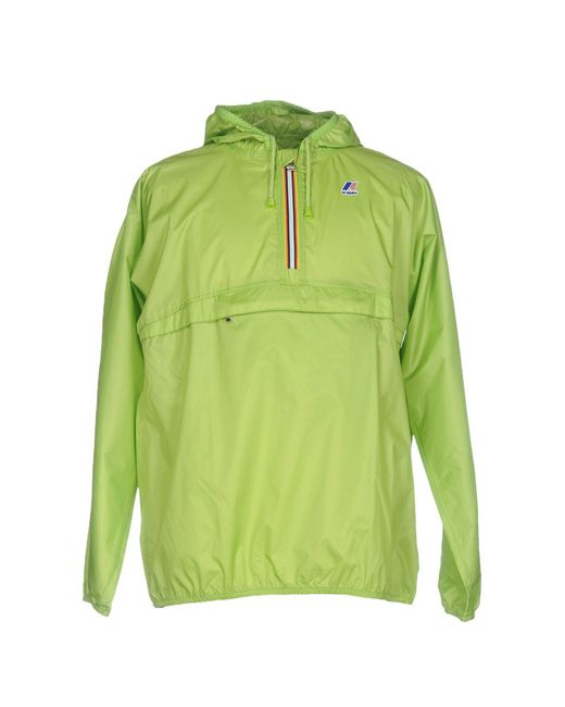 K-Way - Green Jacket for Men - Lyst