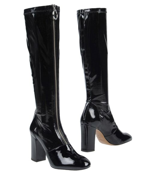 Boutique Moschino - Black Boots - Lyst
