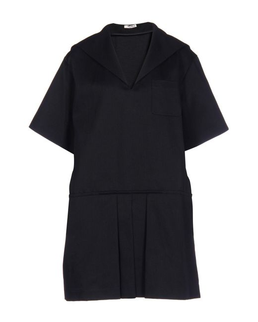 Miu Miu Black Short Dress