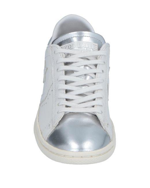 4355d78e74ff6f ... Lyst Converse CONS - Metallic Low-tops   Sneakers ...
