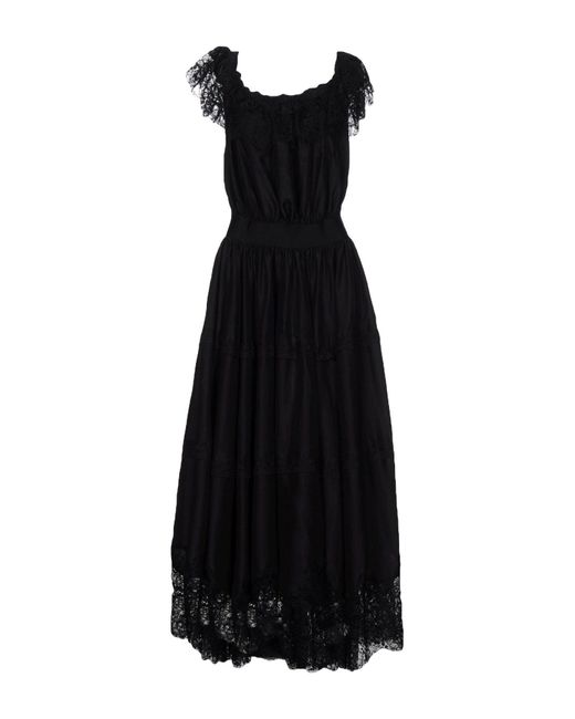 Faith Connexion - Black Long Dresses - Lyst