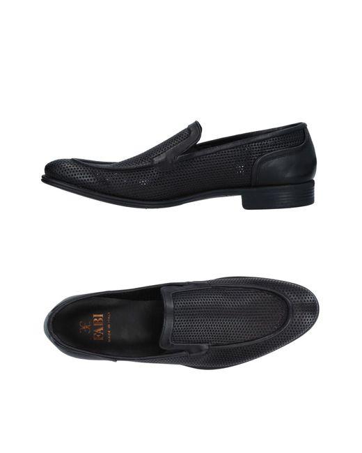 Fabi - Black Loafer for Men - Lyst