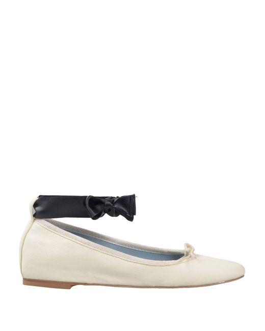 Chiara Ferragni - White Ballet Flats - Lyst