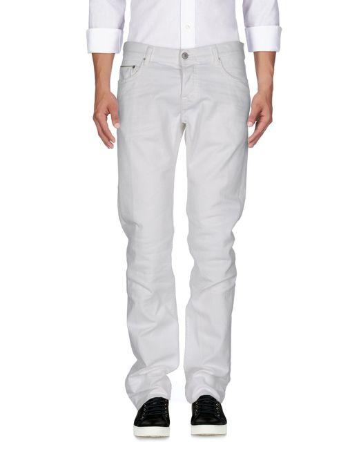 Care Label | White Denim Trousers for Men | Lyst