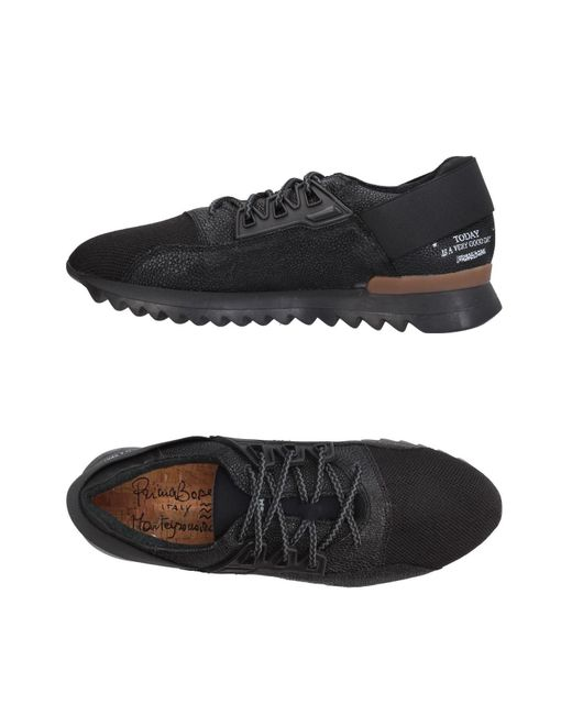 Primabase - Black Low-tops & Sneakers for Men - Lyst