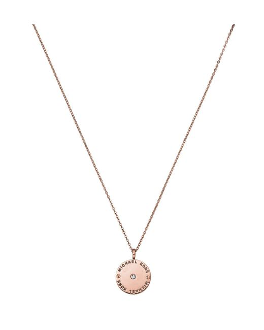 Michael Kors | Metallic Necklace | Lyst