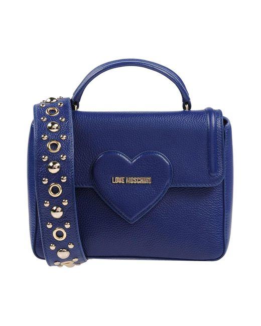 Love Moschino - Blue Handbags - Lyst