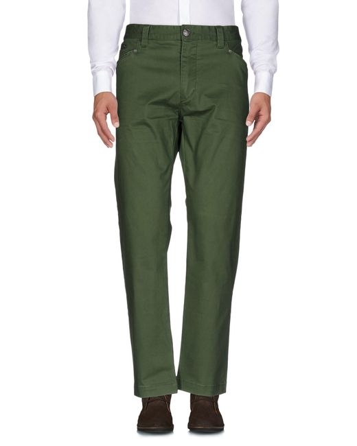 Armani Jeans | Green Casual Pants for Men | Lyst