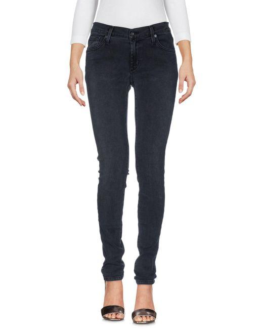 James Jeans - Gray Denim Pants - Lyst