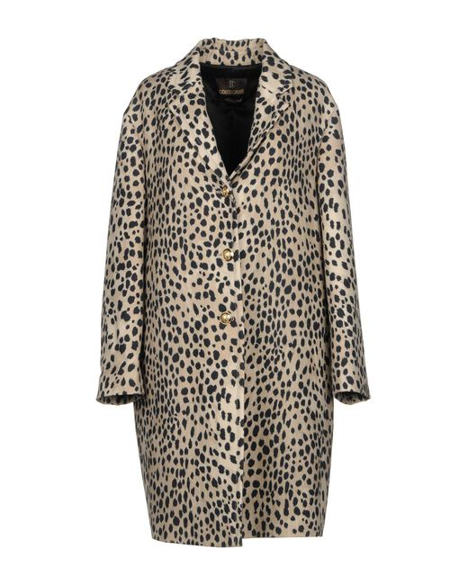 Free Shipping Deals Cheap Sale Low Price Fee Shipping Roberto Cavalli single breasted leopard print coat Discount Exclusive JRPua8UMb