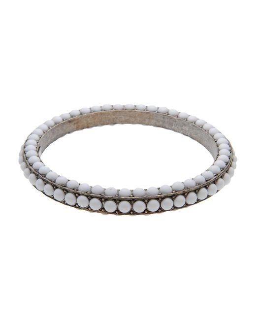 Lanvin | White Bracelet | Lyst