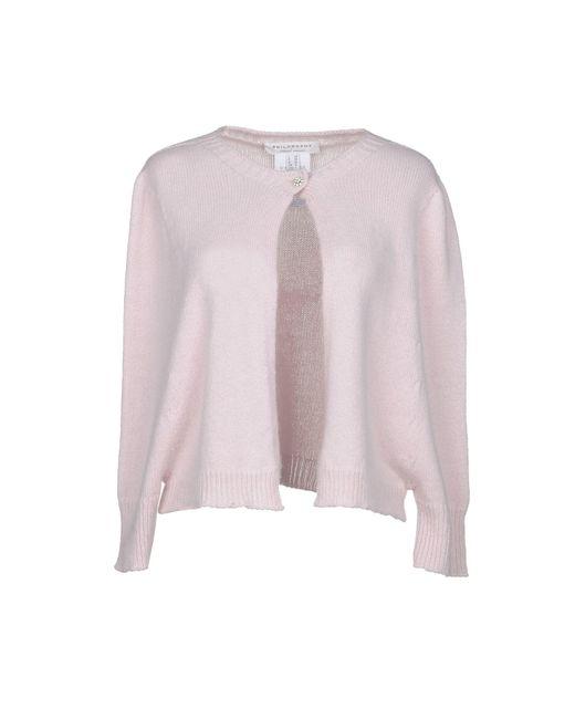 Philosophy Di Lorenzo Serafini - Pink Cardigans - Lyst