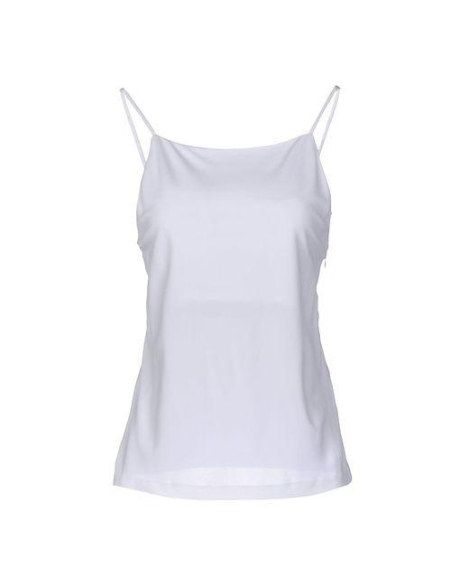 CALVIN KLEIN 205W39NYC - White Top - Lyst