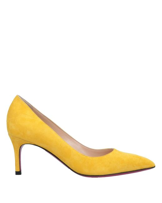Luciano Padovan - Yellow Pump - Lyst