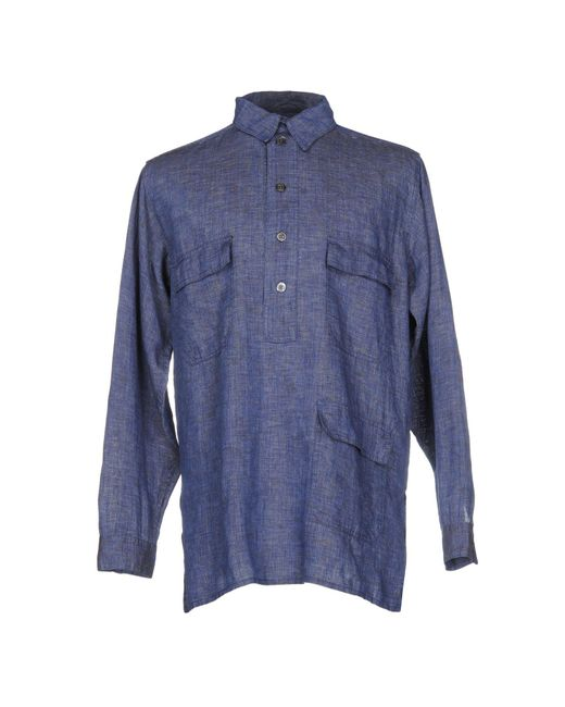East Harbour Surplus | Blue Shirt for Men | Lyst