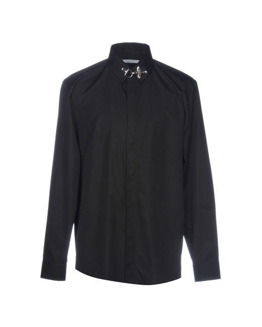 Givenchy - Black Shirt for Men - Lyst