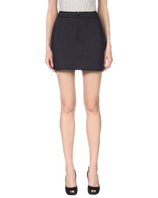 Lisa Marie Fernandez - Black Mini Skirt - Lyst