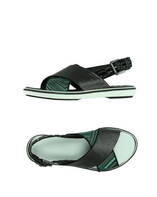 Sam Edelman - Gray Sandals - Lyst