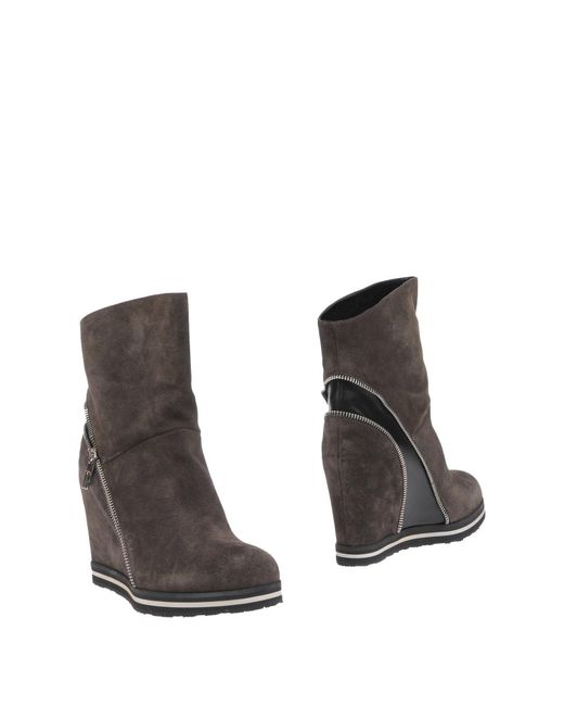 Dirk Bikkembergs | Brown Ankle Boots | Lyst