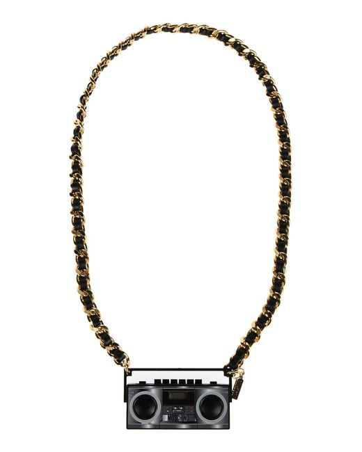 Moschino - Black Necklaces - Lyst