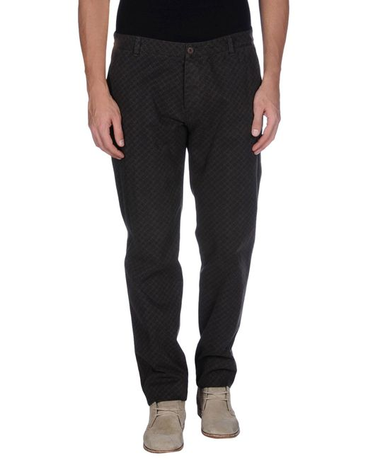 Officina 36 - Brown Casual Trouser for Men - Lyst