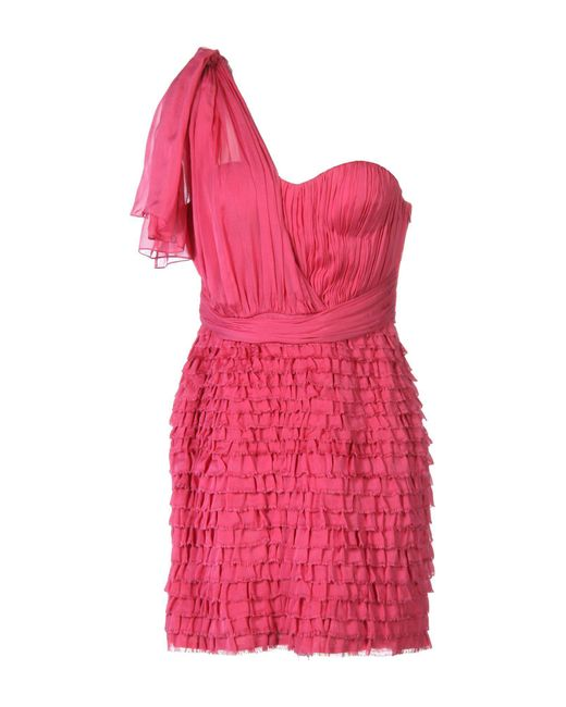 Matthew Williamson | Pink Short Dress | Lyst