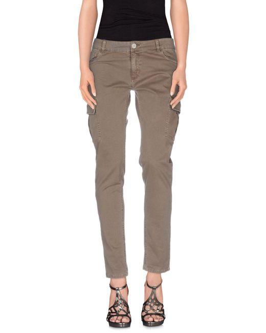 Twin Set - Blue Denim Pants - Lyst