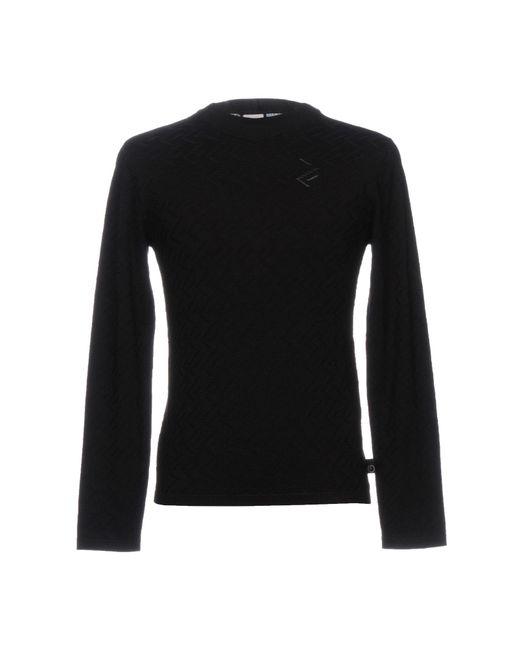 Armani - Black Sweater for Men - Lyst