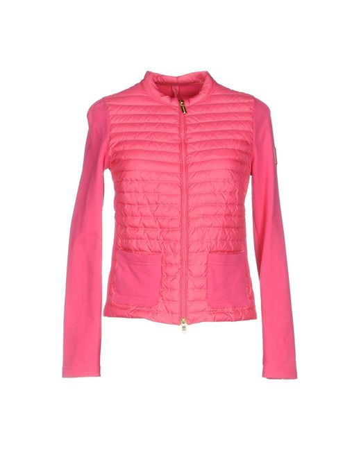 Geospirit - Pink Down Jacket - Lyst