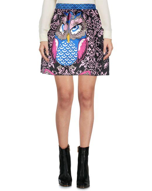 Frankie Morello - Black Mini Skirt - Lyst