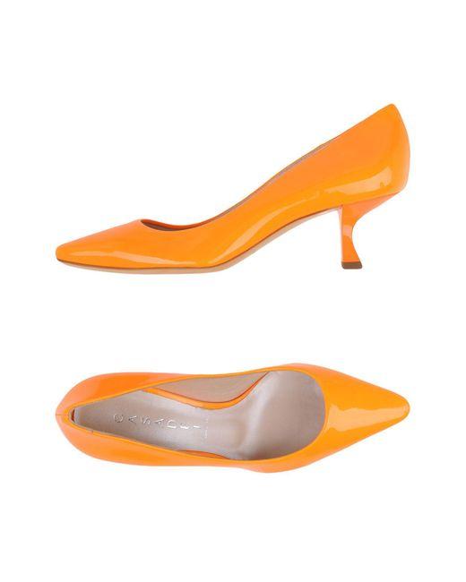 Casadei - Orange Court - Lyst