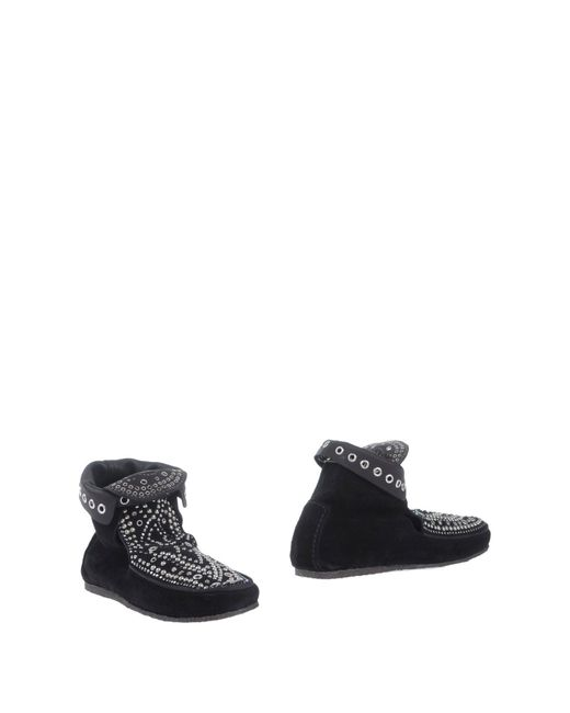 Isabel Marant - Black Ankle Boots - Lyst