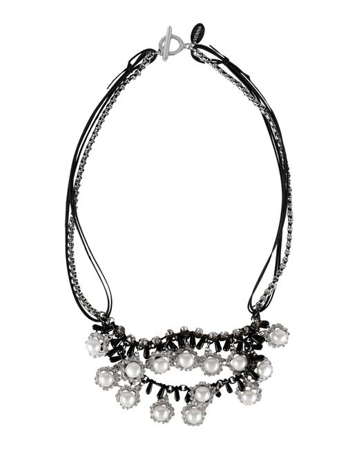 Venna - Metallic Necklace - Lyst