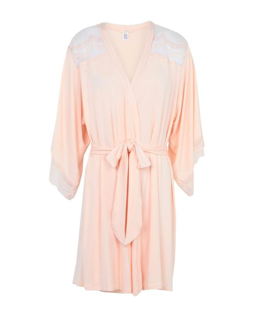 Eberjey - Pink Dressing Gown - Lyst